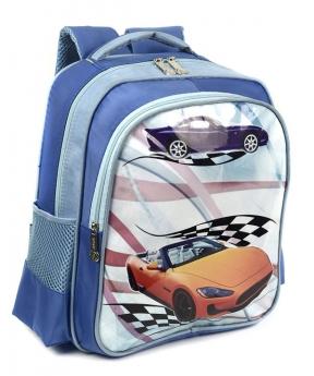 Купить Рюкзак детский 4168 машина желтая 35*28*12см