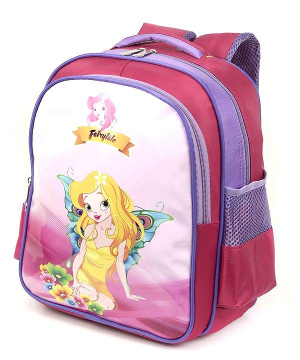 Рюкзак детский 4170 фея 35*28*12см