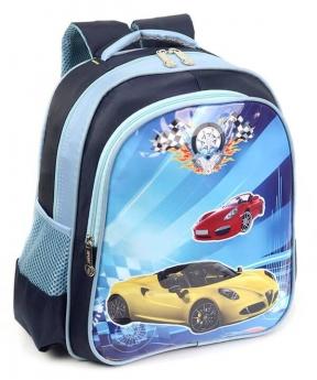 Купить Рюкзак детский 4171 желтая машина 35*28*12см