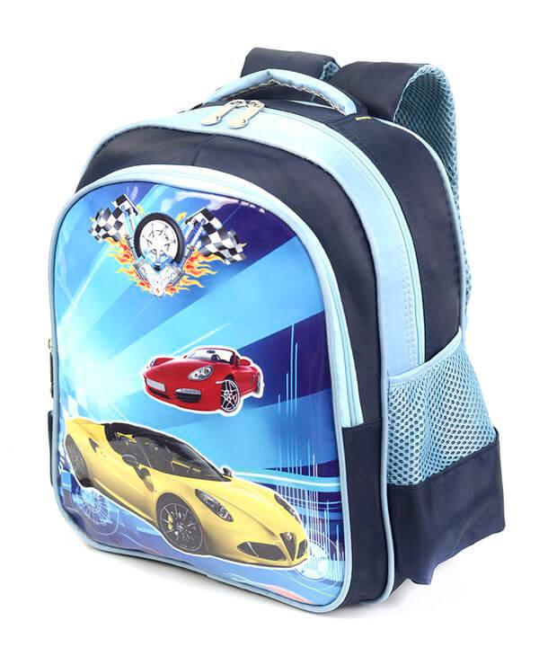 Рюкзак детский 4171 желтая машина 35*28*12см
