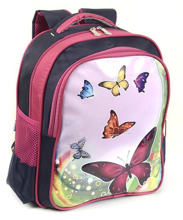 Рюкзак детский 4176 бабочки 35*28*12см