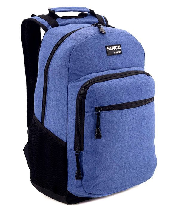 Рюкзак подростковый S-Power 4180 синий 42*28*14см