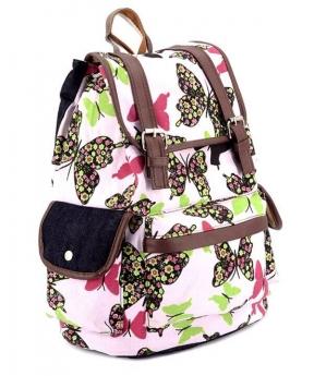 Купить Рюкзак женский бабочки 4185