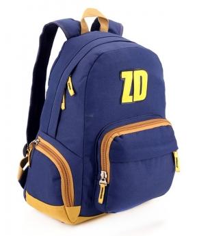 Купить Рюкзак подростковый 4190 тёмно-синий 42*28*15см