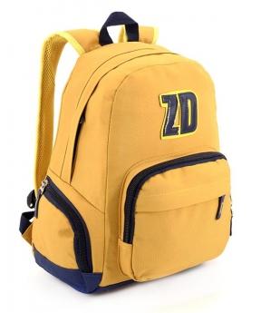 Купить Рюкзак подростковый 4191 желтый 42*28*15см