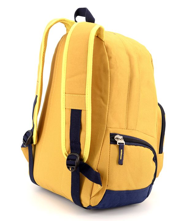 Рюкзак подростковый 4191 желтый 42*28*15см