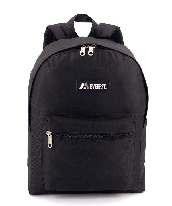 Рюкзак лёгкий летний 4302 чёрный 39*26*12см