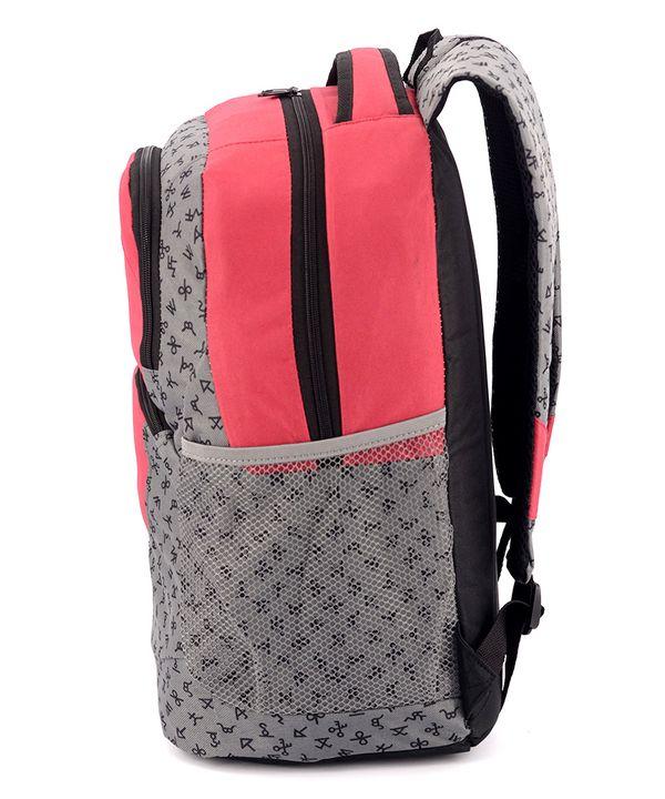 Рюкзак подростковый hanwei 4305 красный 45*29*15см