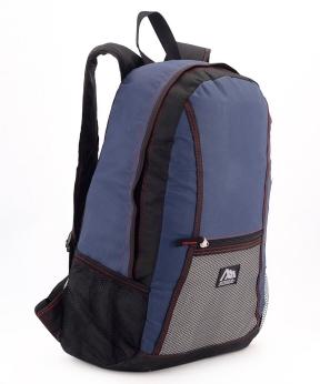 Купить Рюкзак молодежный 4311 синий 47*28*12см