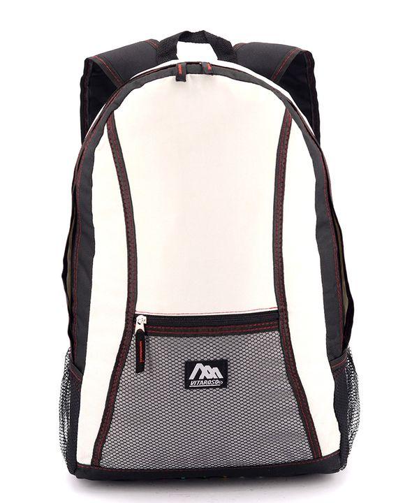 Рюкзак лёгкий летний 4311-1  серый 47*28*12см