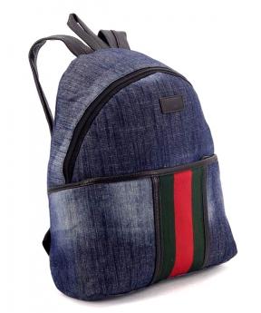 Купить Рюкзак молодёжный 4315-1 тёмный джинс 35*25*12см