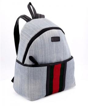 Купить Рюкзак молодёжный 4315 светлый джинс 35*25*12см