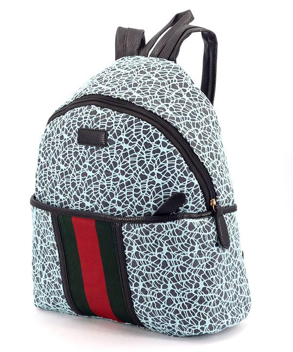 Рюкзак молодёжный 4315-3 бирюзовый 35*25*12см