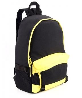 Купить Рюкзак молодёжный 4325 желто-чёрный 46*32*14см