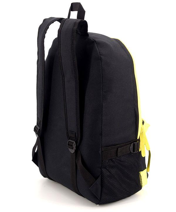Рюкзак молодёжный 4325 желто-чёрный 46*32*14см