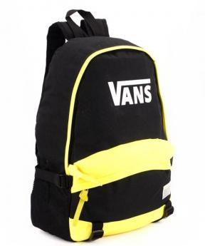 Купить Рюкзак молодёжный 4325-2 желто-чёрный ванс 46*32*14см