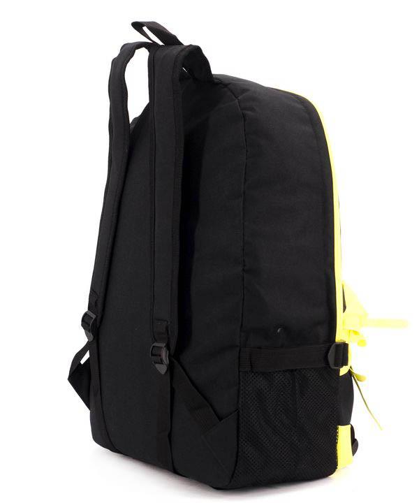 Рюкзак молодёжный 4325-2 желто-чёрный ванс 46*32*14см