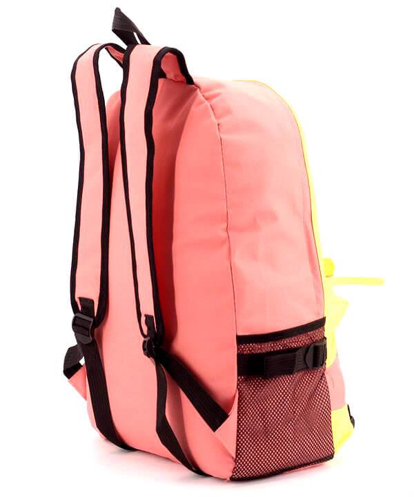 Рюкзак молодёжный 4326 кораловый 46*32*14см