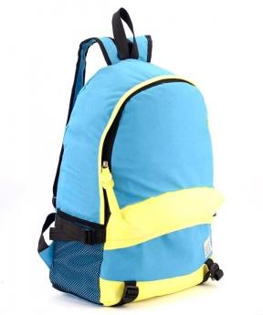 Купить Рюкзак молодёжный 4327 желто-синий 46*32*14см