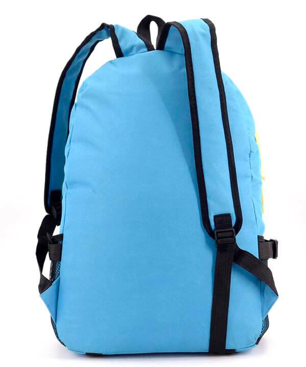 Рюкзак молодёжный 4327 желто-синий 46*32*14см