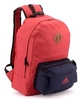 Купить Рюкзак молодежный адидас 4330-1 карман сумочка 39*27*12см