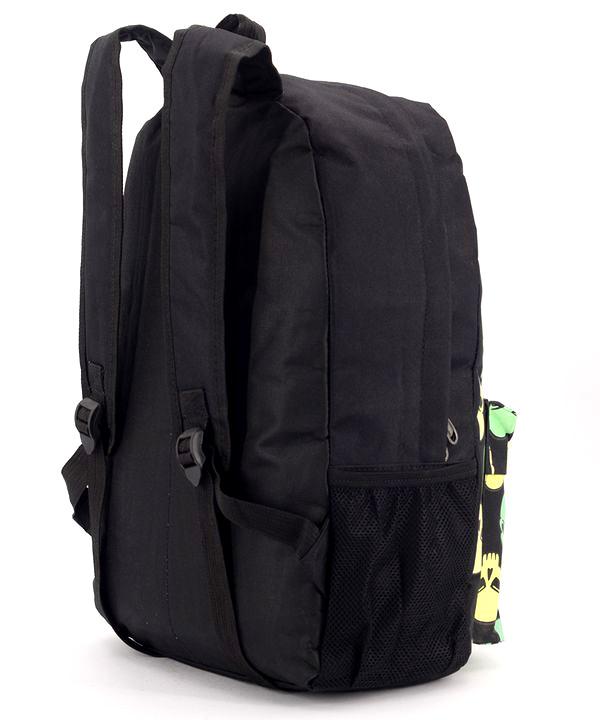 Рюкзак подростковий 4332 чёрный с черепами 46*29*13см
