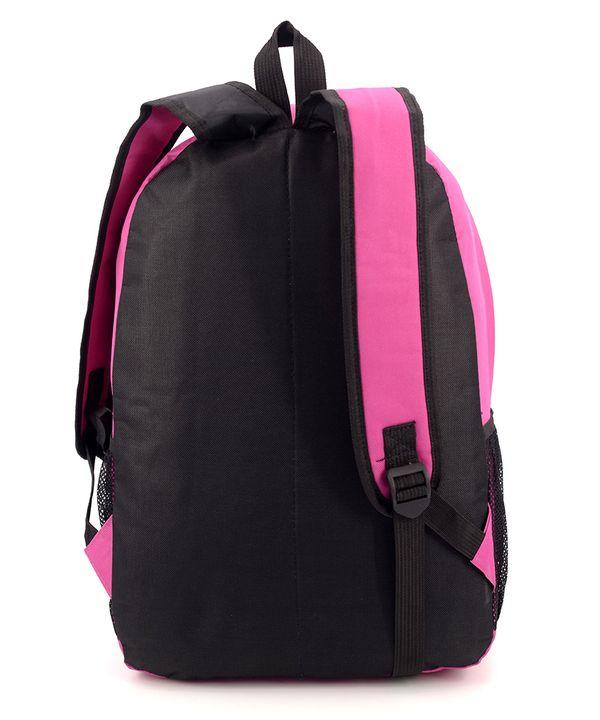 Рюкзак подростковий 4355 розовый с черепами 46*29*13см