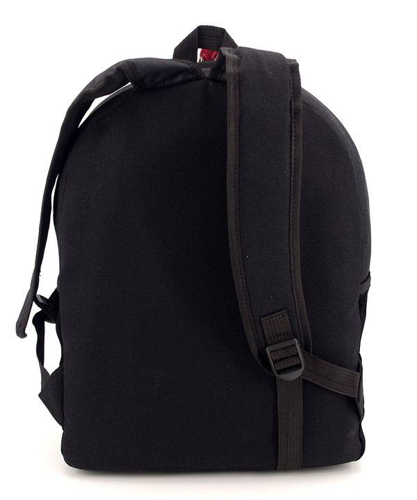 Рюкзак молодежный 4340 чёрный с усами 39*31*12см