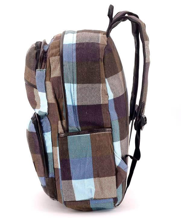 Рюкзак молодежный 4343 в клетку 42*29*13см