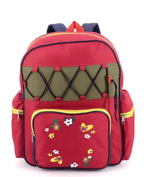 Рюкзак детский 4356 цветочки 37*28*11см