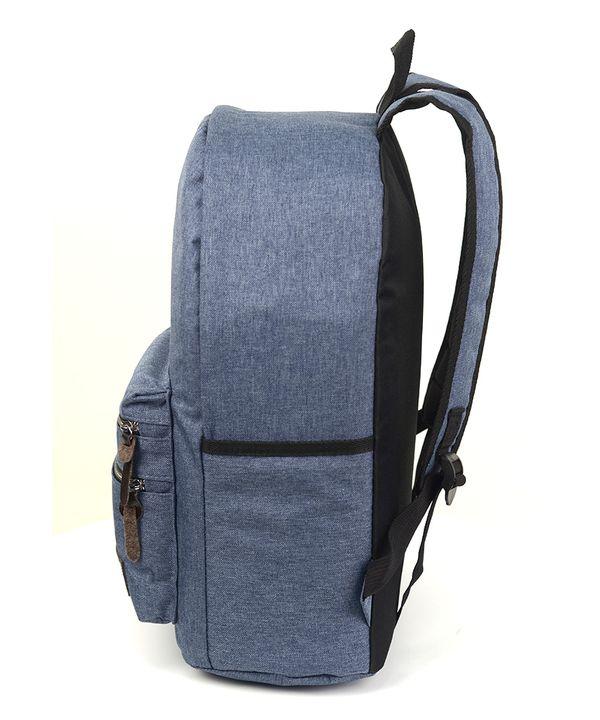 Рюкзак молодёжний 4371 тёмно-синий 41*29*13см