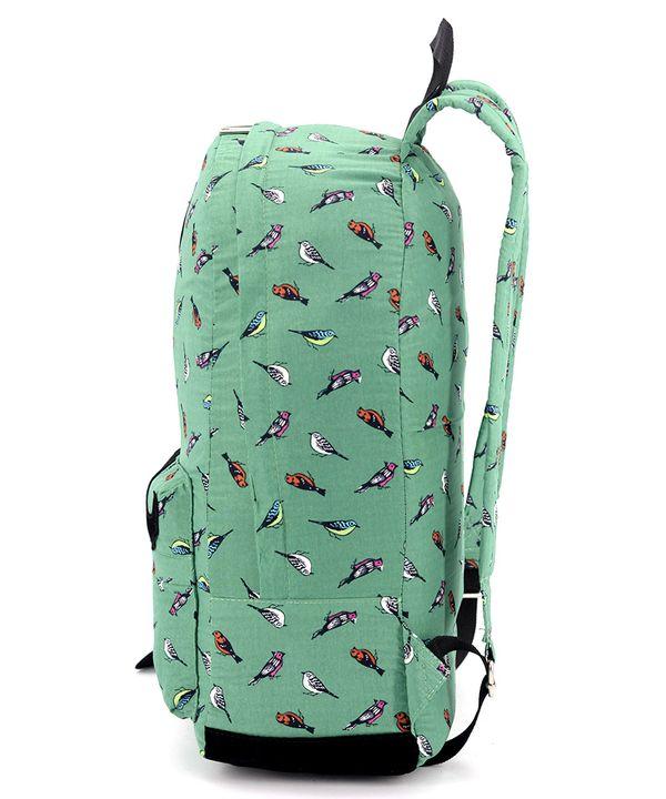Рюкзак подростковый 4400 с птичками 42*26*12см
