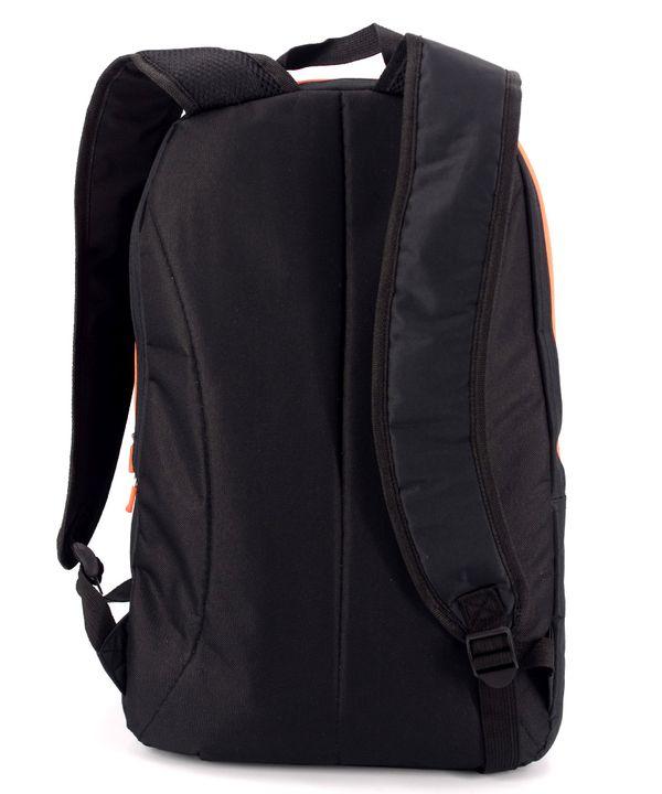Рюкзак accelorator 4512 чёрный с оранжевыми замками 47*29*15см