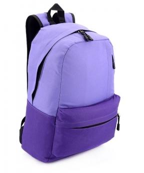 Купить Рюкзак подростковый фиолетовый 4515