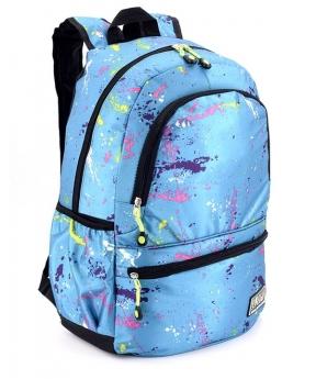 Купить Рюкзак молодёжный 4545 синий (унисекс) 44*27*13см