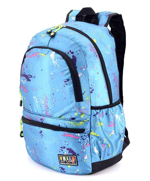 Рюкзак молодёжный 4545 синий (унисекс) 44*27*13см