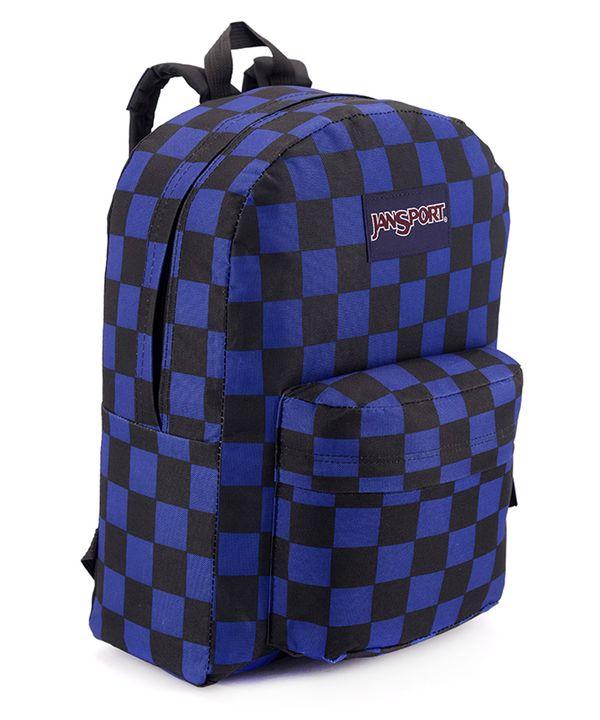 Рюкзак молодежный, клетчатый 4677