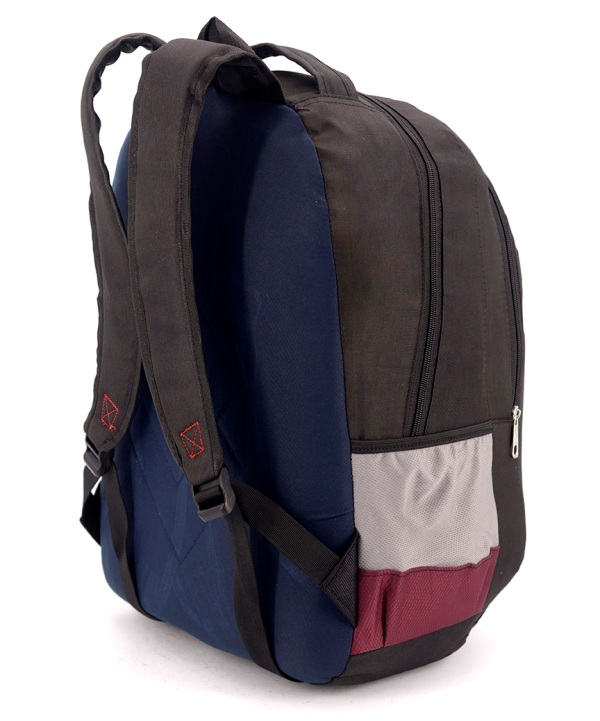 Рюкзак аристократ 4751 коричнево-красный 47*31*13см