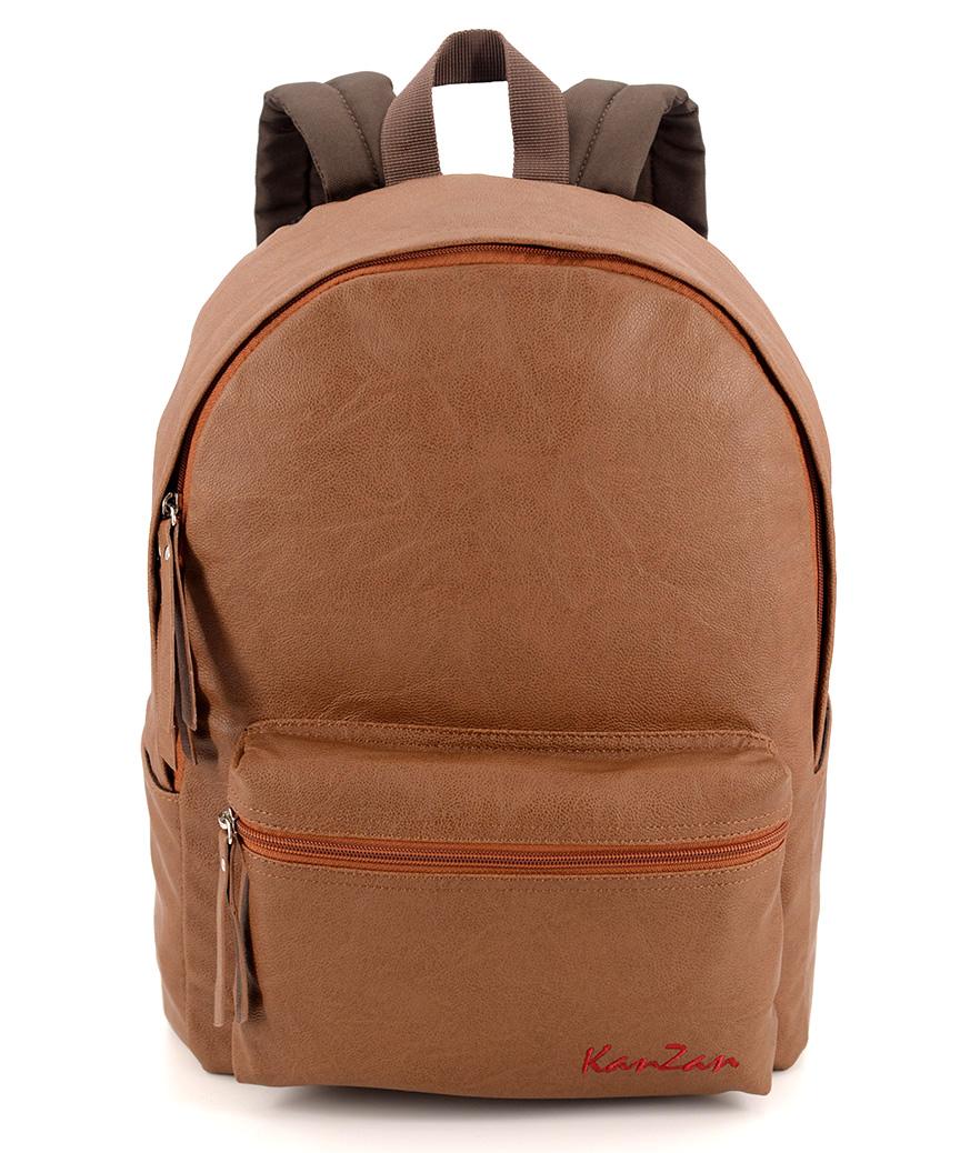 Рюкзак еко кожа 4801 коричневый 38*26*13см