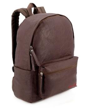 Купить Рюкзак 4805 еко кожа тёмно-коричневый 38*26*13см