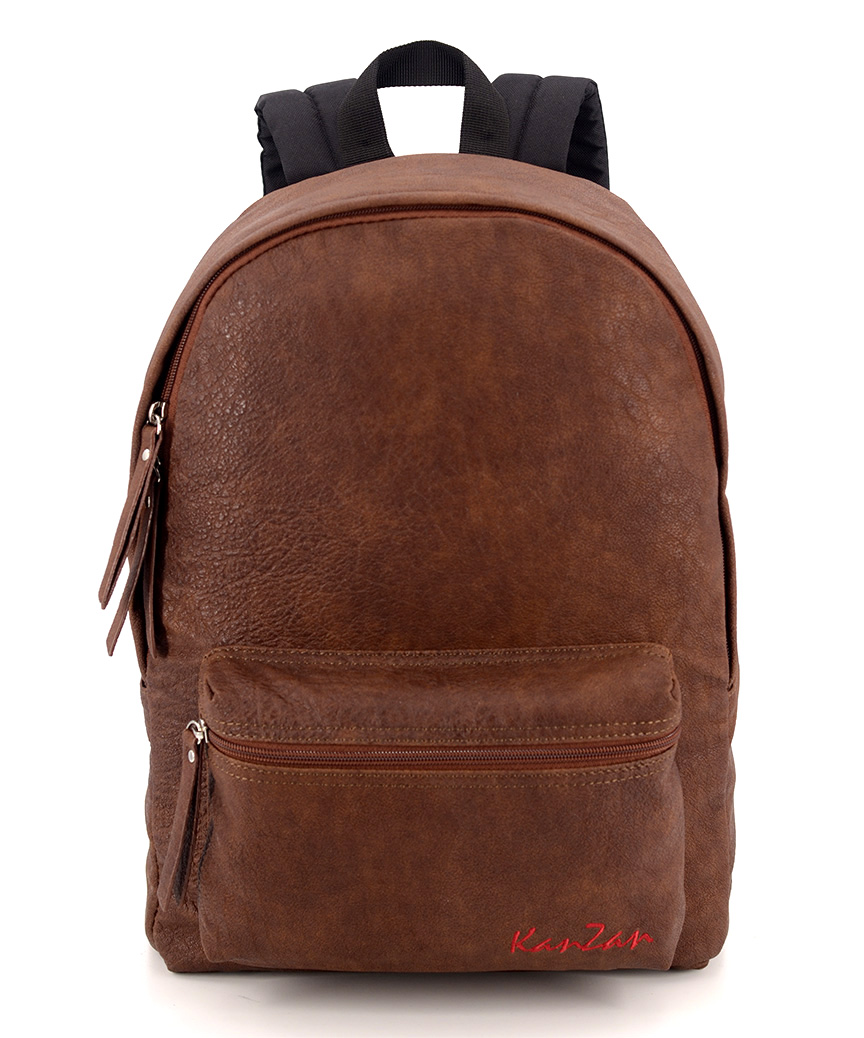 Рюкзак 4806 еко кожа коричневый 38*26*13см
