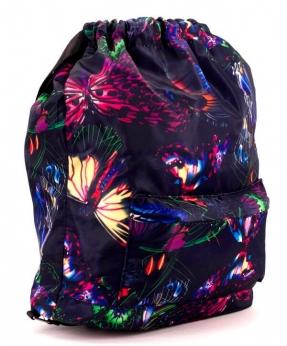 Купить Рюкзак-мешок 4838 бабочки 42*41*16см