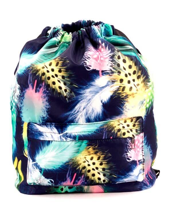 Рюкзак-мешок 4839 перо 42*41*16см