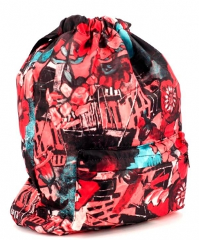 Купить Рюкзак-мешок 4841 абстракция 42*41*16см