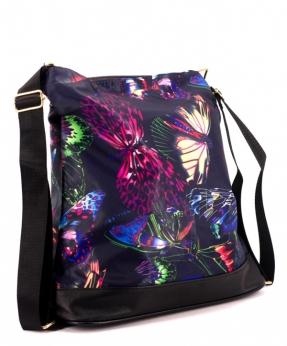 Купить Сумка-рюкзак 4842 бабочки 39*36*13см