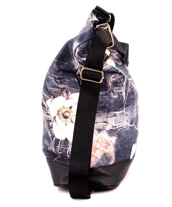 Сумка-рюкзак 4844 абстракция 39*36*13см