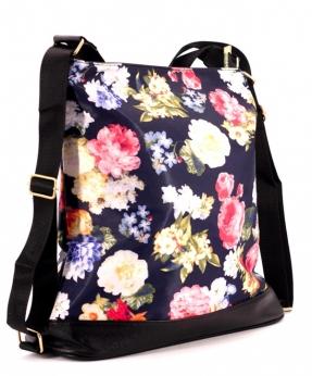 Купить Сумка-рюкзак 4845 цветы 39*36*13см