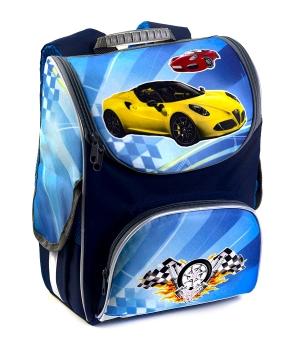 Купить Рюкзак-короб RANEC 4902 Жёлтое авто 35*25*13см