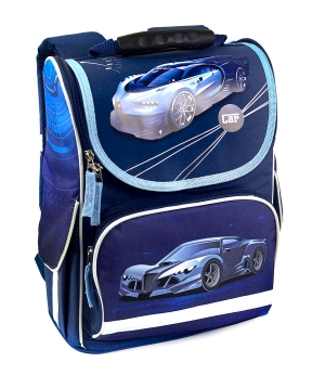 Купить Рюкзак-короб RANEC 4932 Синие авто 35*25*13см