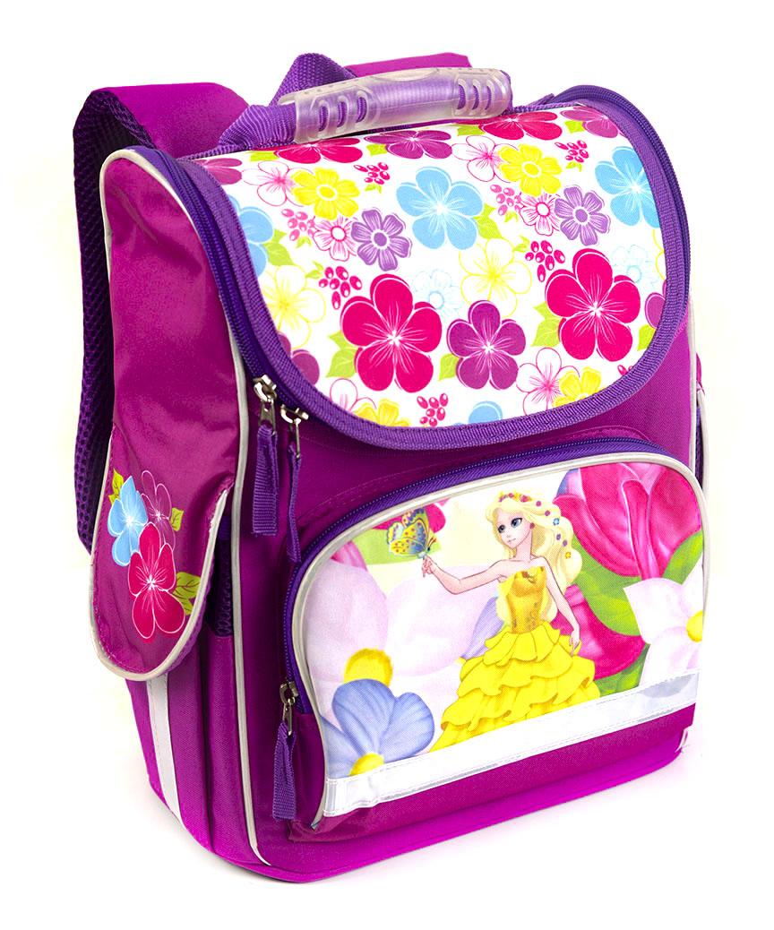 Рюкзак-короб RANEC 4934 Девочка и цветы 35*25*13см